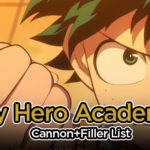 My Hero Academia Filler List & Cannon List