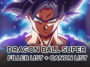 Dragon Ball Super Filler List