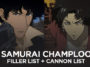 Samurai Champloo filler list