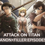 Attack on Titan Filler List + Cannon List